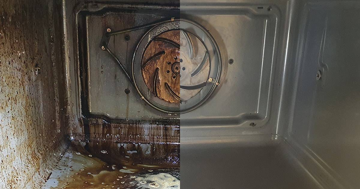 OziClean Oven Cleaning